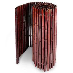 casa pura® Bambus Sichtschutz | Bambusmatte in Premiumqualität, massive Bambusrohre | rot | drei Größen (100x250cm, HxB) casa pura http://www.amazon.de/dp/B00VABJEYG/ref=cm_sw_r_pi_dp_oUqmvb1YSFZKD