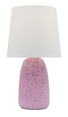 Effie Table Lamp With Pink Terrazzo Base