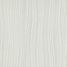 One Seven Five White / Silver Wavy Stripe Paste the Wall Wallpaper 5806-10