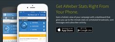 #Aweber users will love these.. Aweber launched two awesome mobile apps for both OS ( #Android  & #iOS  ). The second one is simply superb!