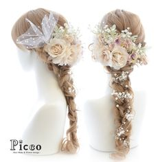 Gallery 133 Order Made Works Original Hair Accesory for WEDDING #byPicco #ピッコ#定番…