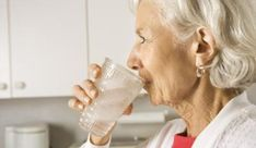 get seniors to drink more water