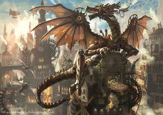 """Steam Dragon"" by ""denki"" - Imgur"