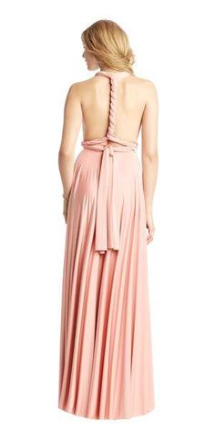 ba8e6e84dc How To Tie. Maxi Bridesmaid DressesBridesmaidsInfinity DressConvertible ...