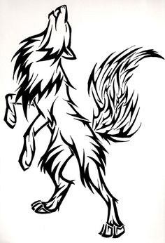 10+ Cool Wolf Drawing Ideas
