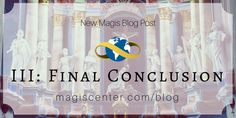 "New Magis Blog Post ""Evidence of the Soul from Our Transcendental Desires III: Final Conclusion"""