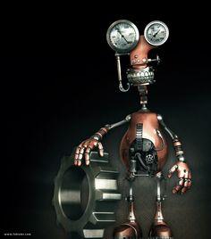 'Robot' By Fabio M Ragonha