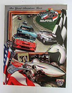 Daytona 500 Program Official Souvenir 1998 NASCAR 50th Anniversary