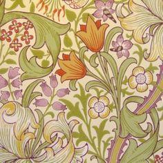 William Morris Archive Wallpaper Golden Lily