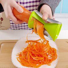 Acessórios de cozinha ferramentas vegetal cortador de ferramentas de cozinha gadgets accesorios de cocina utensilios de cocina espiral funil
