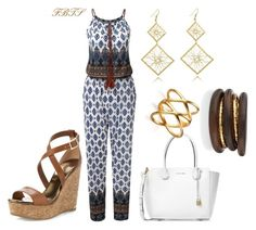 Just My Flow by flybeyondtheskies on Polyvore featuring Jimmy Choo, Michael Kors and NEST Jewelry