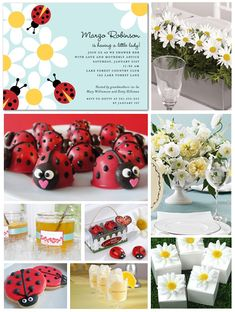 i heart lady bugs, they remind me of my mom! i want to make these candies for my sisters