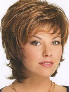 Beautiful 100% Human Hair Wig Lace Front Chin Length Straight Beeline Honey Free Shipping