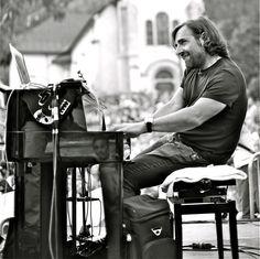 photo boillon christophe / cosmojazz 2013 / un autre regard en n&b sur le cosmojazz festival 2013 le pianiste andre manoukian