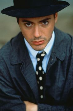 "Young(er) Robert Downey Jr.   He looks like Al Pacino in ""The Godfather""... uncanny resemblance!"