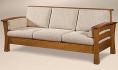 The Portmagee Real Wood Sofa was put together using mortise and tenon joinery ensuring you get a durable product that will last for generations. Wooden Living Room Furniture, Modern Wood Furniture, Living Room Sofa Design, Wood Pallet Furniture, Wood Sofa, Sofa Furniture, Furniture Plans, Furniture Design, Amish Furniture