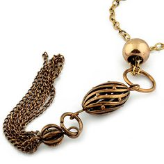 Retro Fashion Sweater Chain And Alloy Y Necklace