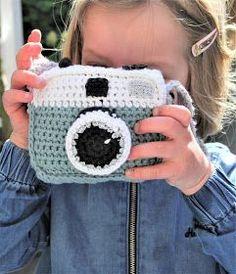 Gehaakte fotocamera (gratis patroon)
