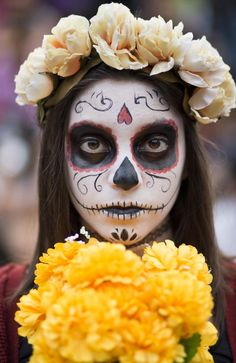 What a beautiful celebration and concept! The day of the dead. It's mainly associated with Mexico, but is celebrated throughout Latin America where families come together to welcome their loved ones with their favourite food, drinks, candles, flowers and incense.
