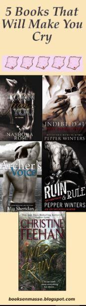 5 dark romance books that will definitely make you cry.