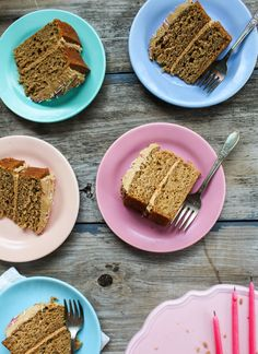 Coconut Sugar Banana Layer Cake with Caramelized Coconut Sugar Frosting