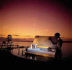 Opera on the Lake Stages of Bregenz - can you imagine seeing a show performed on such a stage? http://twistedsifter.com/2011/08/outdoor-opera-on-the-lake-stages-of-bregenz/