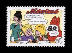 Postzegel Nederland 1998 Jan, Jans en de kinderen