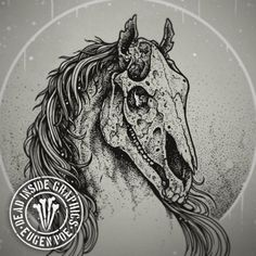 Image result for horse skull design