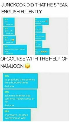 Clearly he used grammar properly, unlike the person that typed this out. Remember to use the proper verb tenses when writing everyone I Love Bts, My Love, K Pop, Bts Texts, About Bts, Bts Boys, Kpop Groups, Bts Bangtan Boy, Taekook