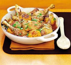 Duck tagine with clementines | BBC Good Food