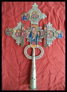 Big Ethiopia Africa Coptic Cross Orthodox Church Cross Ethiopian cm Icon | eBay