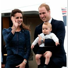 Kate,William and George