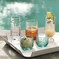These are pretty dang adorable // tai tall cocktail glass  | CB2