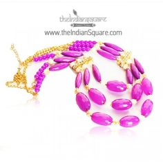 #Purple #Beads #Neckpiece comes with earrings of its own. CASH ON DELIVERY available.