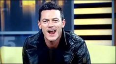 #LukeEvans Shows his natural fangs on FOX 5 morning program ' Good Day New York.'