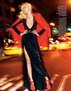 #JessicaStam for #VogueRussia December 2010 by Greg Kadel; styled by fashion editor Ekaterina Mukhina