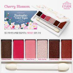 Etude House Fantastic Color Eyes - Cherry Blossom Palette
