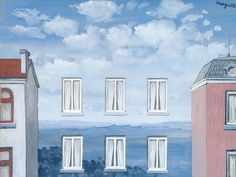 painting by Rene Magritte