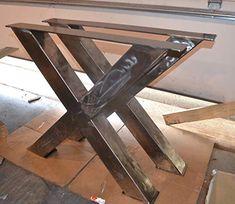 12 best metal table frame images industrial furniture metal rh pinterest com