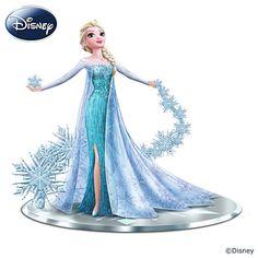Disney Elsa Figurine//Bradford Exchange