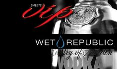 WET REPUBLIC FRIDAY LOUNGE TABLE DEAL ESCORTED BY SHEETS VIP TO YOUR PRIVATE LOUNGE TABLE- PRIVATE AREA SECURITY- TRADITIONAL MIXERS INCLUDE-( ORANGE JUICE, SODA WATER, TONIC, CRANBERRY JUICE) –WET REPUBLIC INCLUDES 1K FOOD