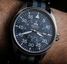Orient Flight Watch Review