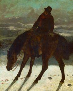 Gustave Courbet, Chasseur à cheval, 1864. Huile sur toile, 119 x 95 cm.