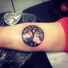 Afbeeldingsresultaat voor branch tattoo