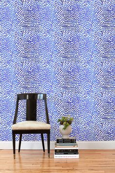 This removable wallpaper tile by Lina Rennell