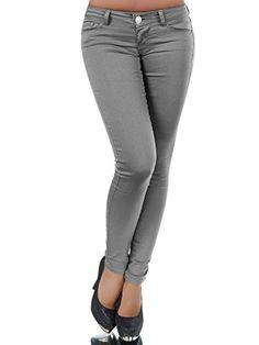 Damen Jeggings Röhren Jeans Hose Hosen Leggins Treggings W30-W40 Übergröße