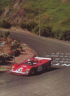 """FERRARI 312 PB - TCar , 1972  """"in prova""""  Sandro Munari"""