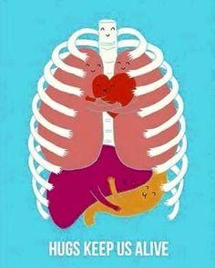 Hugs keep us alive... ♥