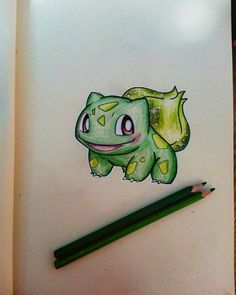 Bulbasaur ❤ pokemon drawing @kocatwins