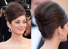 60s inspired Beehive wedding hairdo for long hair